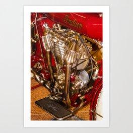 cycle engine Art Print