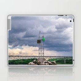 Rip Van Winkle Bridge - Bird Watch Laptop & iPad Skin