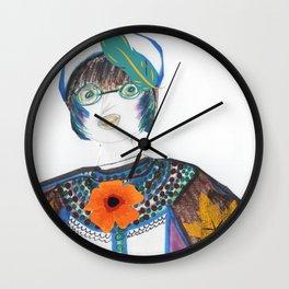 Nature Woman Wall Clock