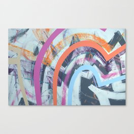 Soft & Wild Canvas Print