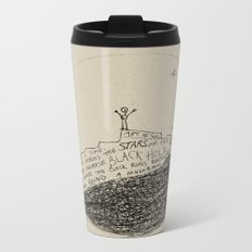 doodle - found a mushroom Metal Travel Mug