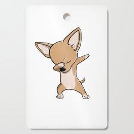 Funny Dabbing Chihuahua Dog Dab Dance Cutting Board