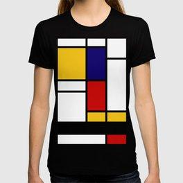 Prints, Mid Century Modern Wall Art, Large Abstract Geometric Wall Art, Mondrian Style Art, Minimali T-shirt