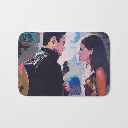 Johnny and June Bath Mat