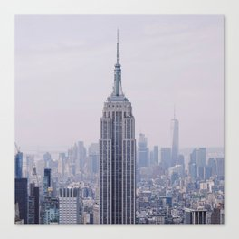 Empire State Building – New York City Canvas Print