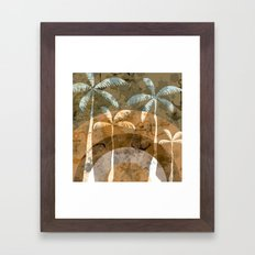 Surf and Sand Framed Art Print