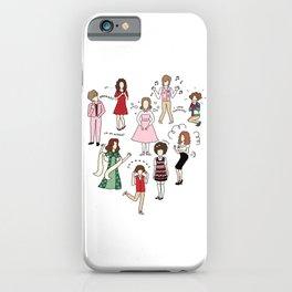 Kristen Wiig Characters iPhone Case