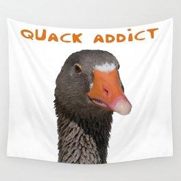 Quack Addict Wall Tapestry