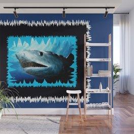 Shark Bite Blues Wall Mural