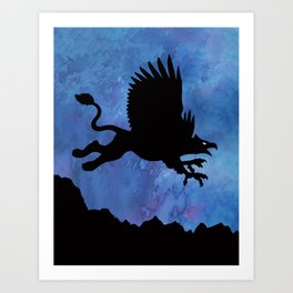 Gryphon Art Print
