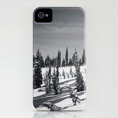 snow-covered Slim Case iPhone (4, 4s)