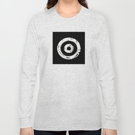 Black & White Target Long Sleeve T-shirt