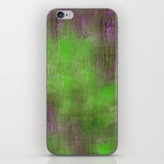 Green Color Fog iPhone Skin