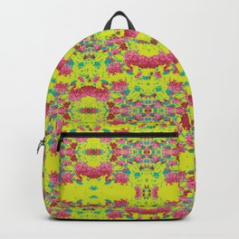 Ixoras in Graphic Backpack