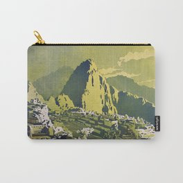Incan city of Machu Picchu- Sacred Valley, Peru Carry-All Pouch