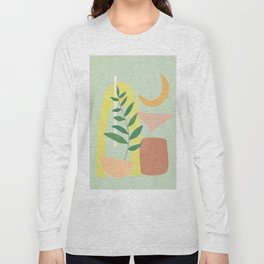Partially Abstract 2 Long Sleeve T-shirt