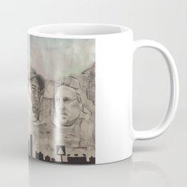 New England Rushmore Coffee Mug