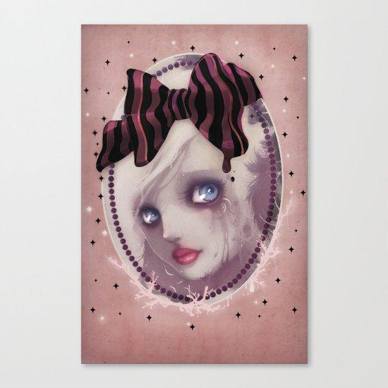 Mascara(de) Canvas Print
