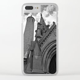 Glasnevin Tombs Clear iPhone Case