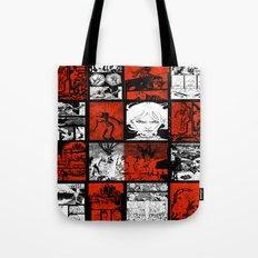RED & WHITE - A nne Frankenstein Book I - Resurrection Tote Bag