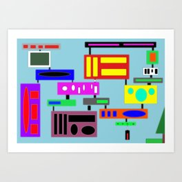There is a park Art Print