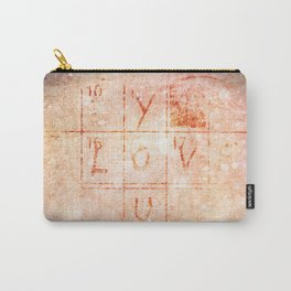 Love You Artwork Carry-All Pouch