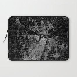 Kansas City map Laptop Sleeve