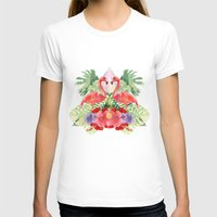 flamingo T-shirts featuring Flamingo by Kangarui by Rui Stalph