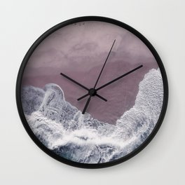 Sands of Lavender Wall Clock