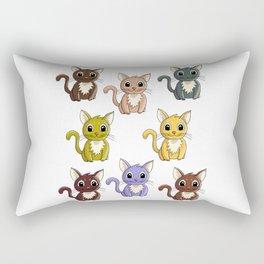 Who said meow? Rectangular Pillow