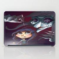 coraline iPad Cases featuring Coraline by Phil Vazquez