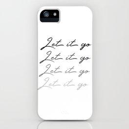 Make Like Elsa & Let It Go iPhone Case