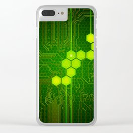 D20 Digital Crit Clear iPhone Case