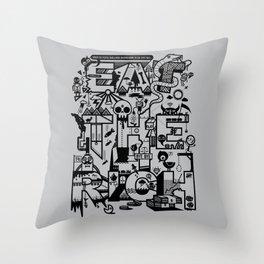 EAT THE RICH Throw Pillow
