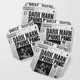 Daily Prophet newspaper Coaster