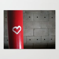 Love in a Stairwell Canvas Print