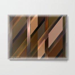 Parquet Metal Print