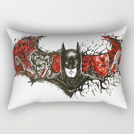 Under the Red Hood Rectangular Pillow