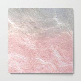 Feel with salt water Metal Print