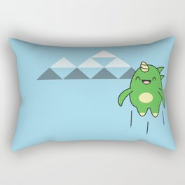 Kawaii Dragon Rectangular Pillow
