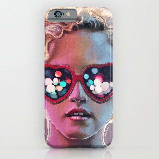 Electrick Girl iPhone & iPod Case