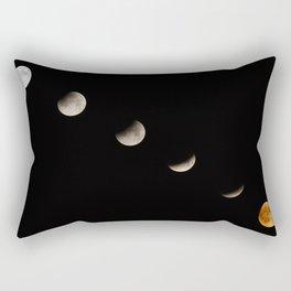 Supermoon Lunar Eclipse Rectangular Pillow