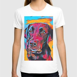 Labrador Retriever 8 T-shirt
