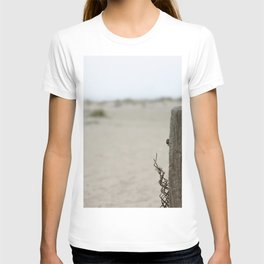 Old Fence Pole T-shirt