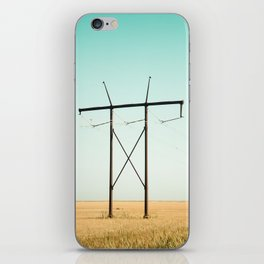 Don Quixote of La Mancha against the windmills iPhone Skin