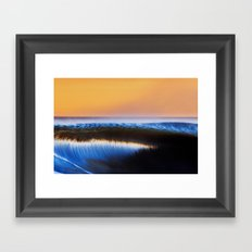 Blurred Lines Framed Art Print