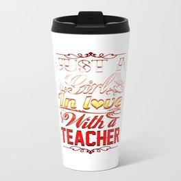 In love with a Teacher Travel Mug