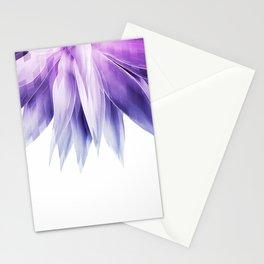 Agave geo fringe - amethyst Stationery Cards