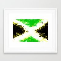 jamaica Framed Art Prints featuring Jamaica dream by seb mcnulty