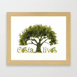 Costalivos Framed Art Print